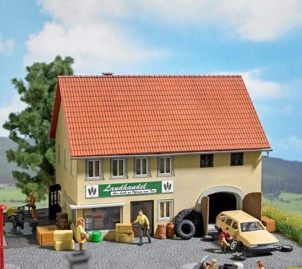 Busch H0 1665 - Landhandel mit Zubehör - Neu