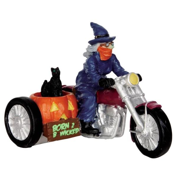 Lemax 53206 - BORN 2 B WICKED - Spookytown Halloween Winterdorf