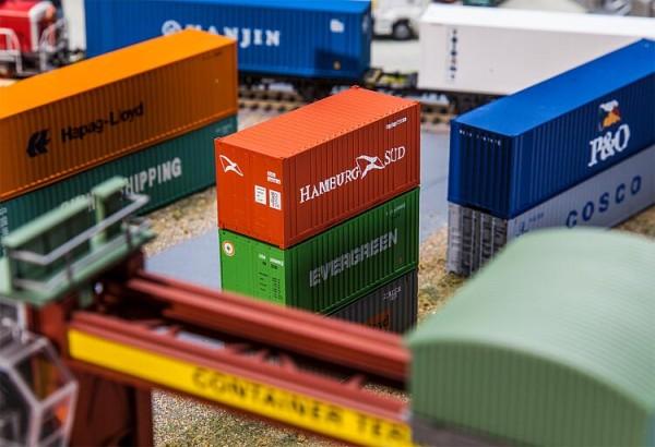 Faller H0 180822 - 20'' Container HAMBURG SÜD - Neu