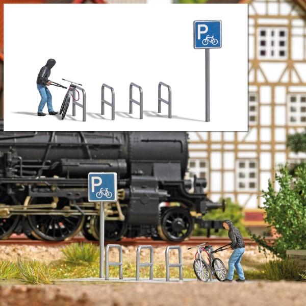 "Busch H0 7950 - Action-Set: ""Fahrradklau"""