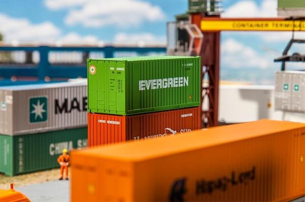 Faller H0 180821 - 20'' Container EVERGREEN - Neu