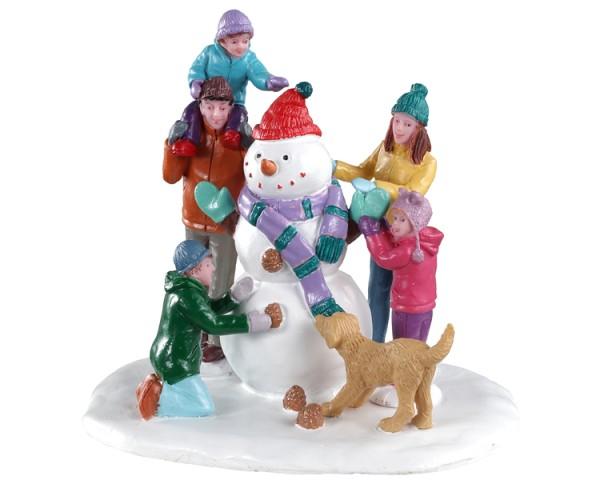 Lemax 03511 - Snowman Teamwork