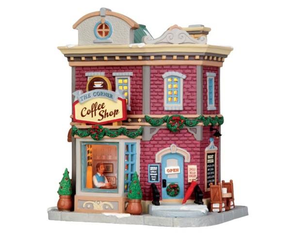 Lemax 45704 - The Corner Coffee Shop