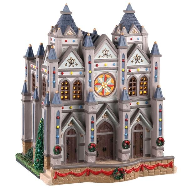 Lemax 05661 - Christmas at The Cathedral Weihnachtsdorf Winterdorf Neu
