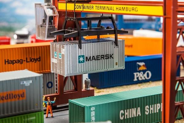 Faller H0 180820 - 20'' Container MAERSK - Neu