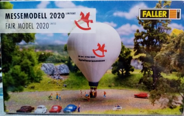 Faller N 195992 - Heissluftballon - Toy Fair 2020 - Neu