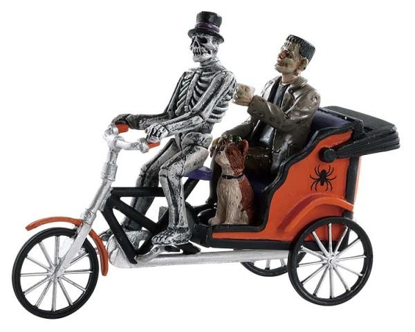 Lemax 82572 - PEDICAB RIDE - Spooky Town Halloween