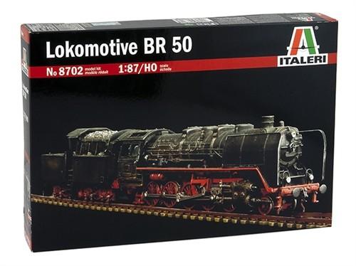 Italeri H0 8702 - Bausatz Lokomotive BR 50 ohne Antrieb 641 - Neu