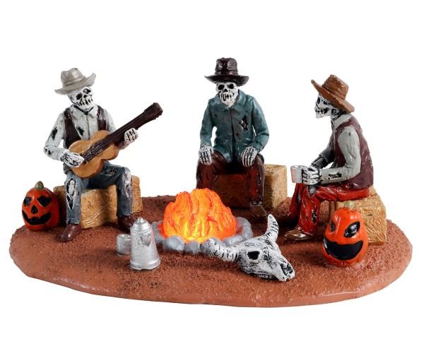 Lemax 14827 - WARMING THEIR BONES, B/O (4.5V) Spooky Town Halloween