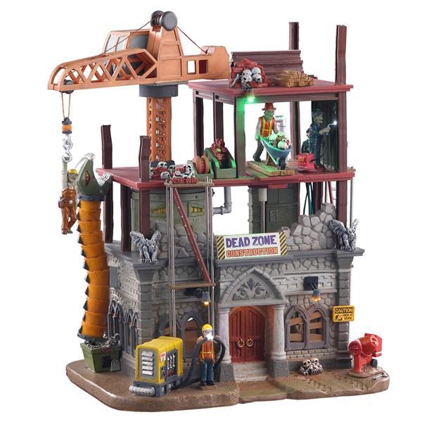 Lemax Spooky Town 05604 - Dead Zone Construction Site
