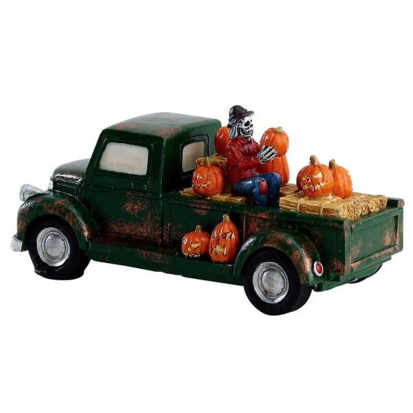 Lemax 73318 - PUMPKIN PICKUP TRUCK - Spooky Town Halloween